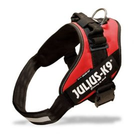 Pettorina Power Julius-K9 size: 2 red  per cani di peso 28-40 mis:71-96