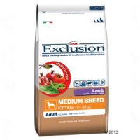 Exclusion Adult Lamb Medium all'Agnello per Cani di Taglia Media Confezione da 3kg