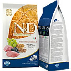 Farmina N&D Low Grain Lamb & Blueberry Mini Alimento Completo per Cani  di Taglia Piccola con Agnello e Mirtilli  800gr