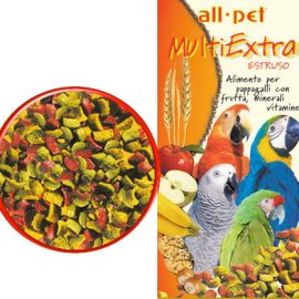 All Pet Multiextra Estruso per Pappagalli 700 g