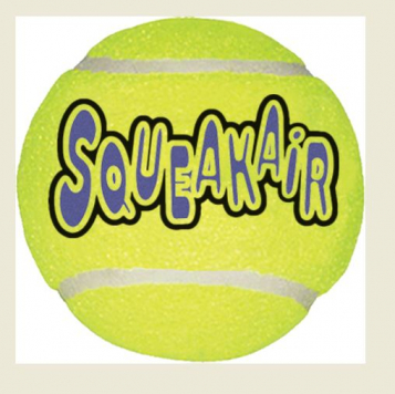 Kong Air Dog Squeaker Tennis Ball XL